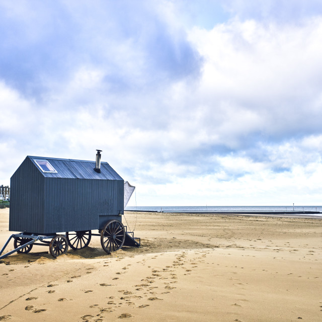 """Margate bathing machine"" stock image"
