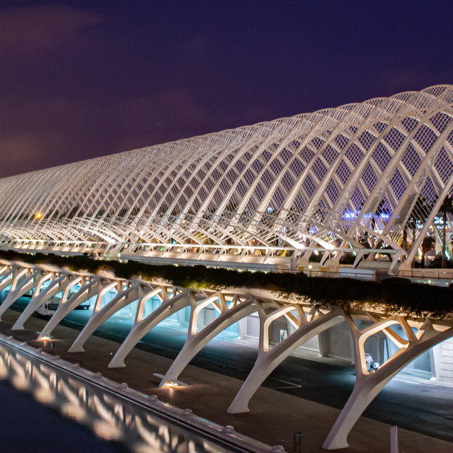 """""""Umbracle at the City of arts and science"""" stock image"""