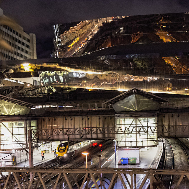 """""""Grand Central & New Street Station"""" stock image"""