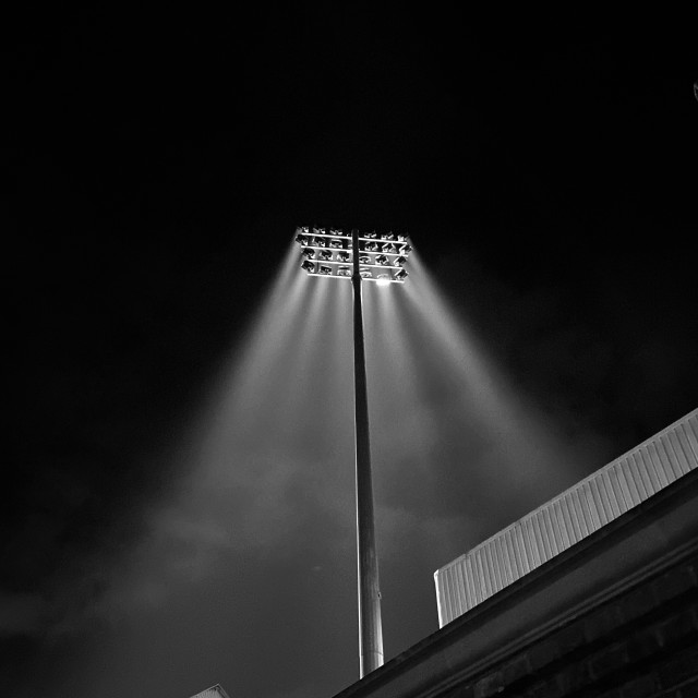 """Floodlit"" stock image"