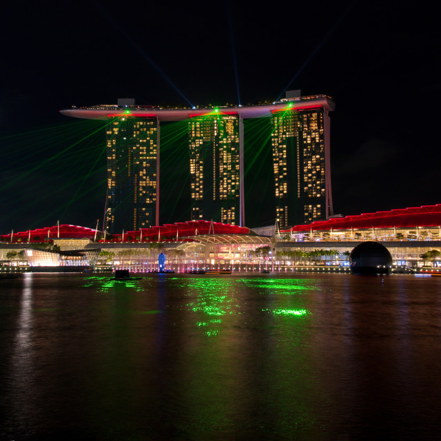 """Singapore miracles"" stock image"