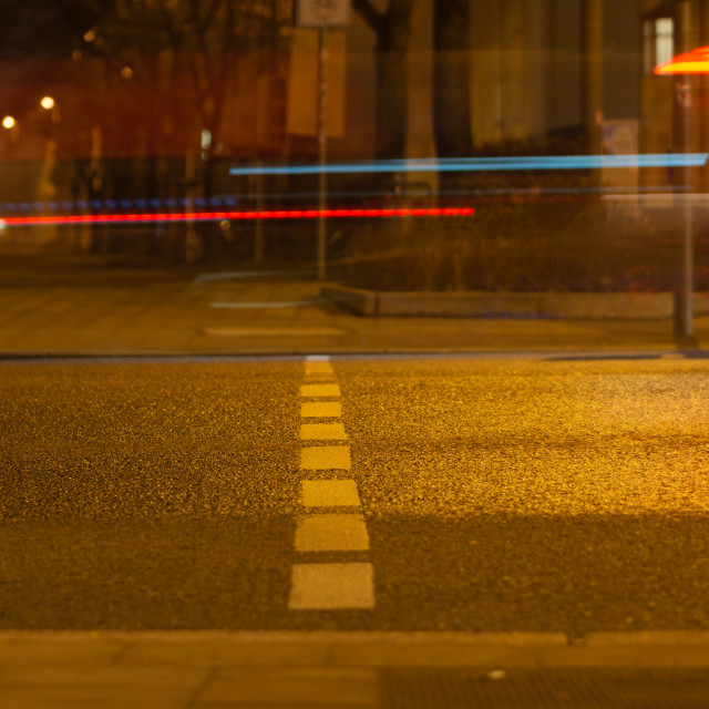 """""""Long exposure in the city"""" stock image"""