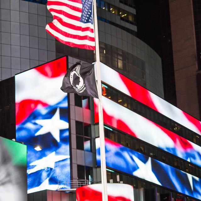 """Times Square at night - New York VI"" stock image"
