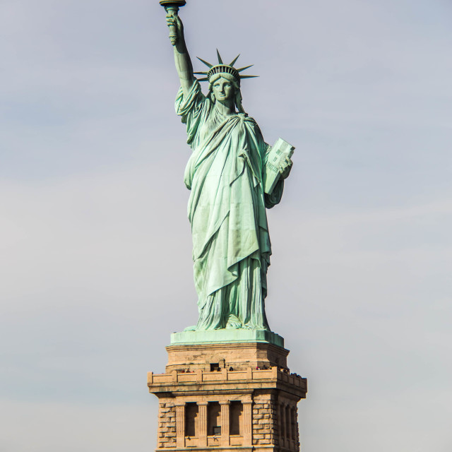 """The Statue of Liberty III"" stock image"