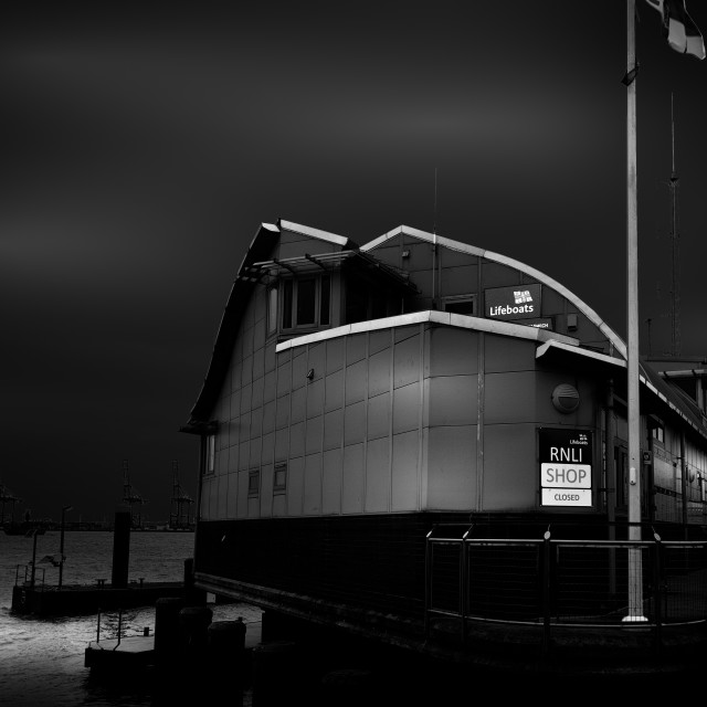 """Harwich Lifeboat Station"" stock image"