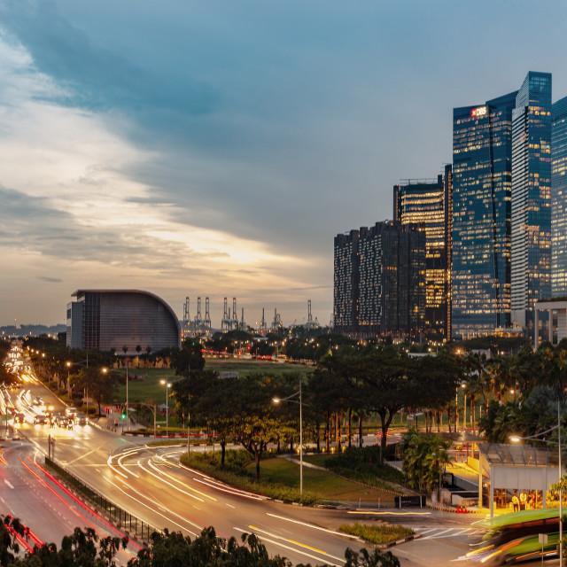 """city of Singapore"" stock image"