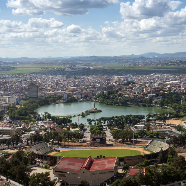 """""""Antananarivo"""" stock image"""
