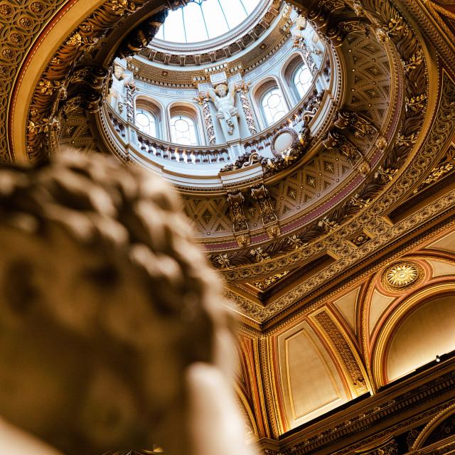 """""""Fitzwilliam Museum Cambridge UK."""" stock image"""