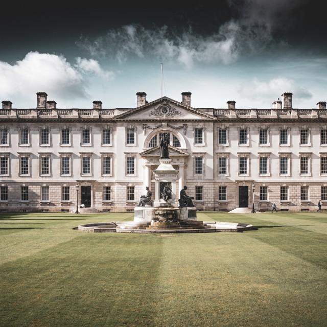 """Kings College Cambridge."" stock image"