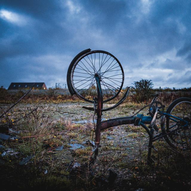 """""""Wastelands, Cambridge UK"""" stock image"""