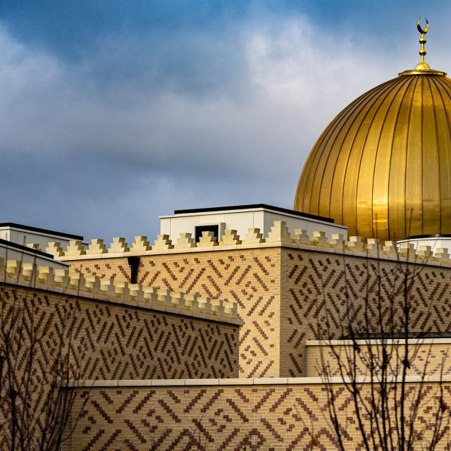 """Cambridge Central Mosque."" stock image"