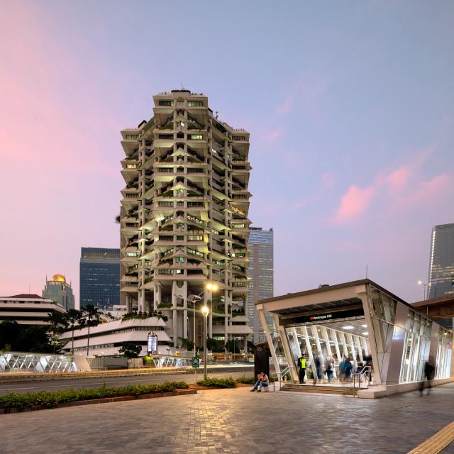 """Intiland Tower - Jakarta"" stock image"