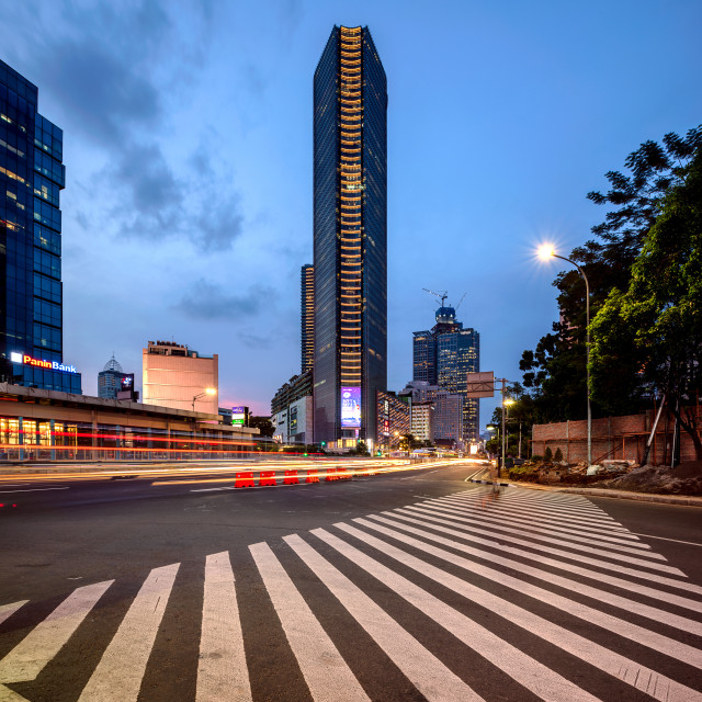 """Menara BCA - Jakarta"" stock image"