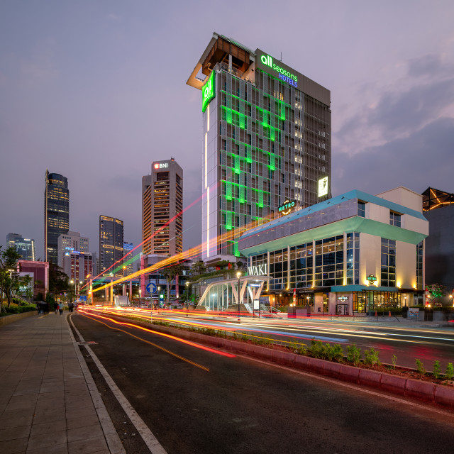 """Dukuh Atas MRT Station - Jakarta"" stock image"