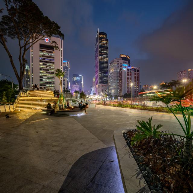 """The Dukuh Atas 2 Culture Spot - Jakarta"" stock image"
