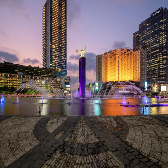 """Selamat Datang Monument - Jakarta"" stock image"