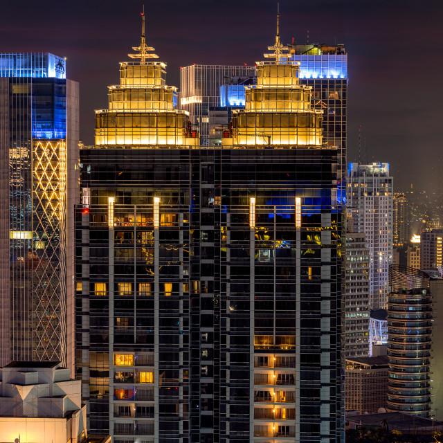 """The Capital Residence - Jakarta"" stock image"