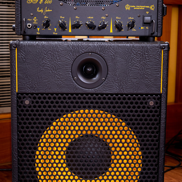 """Markbass stage bass amplifier"" stock image"