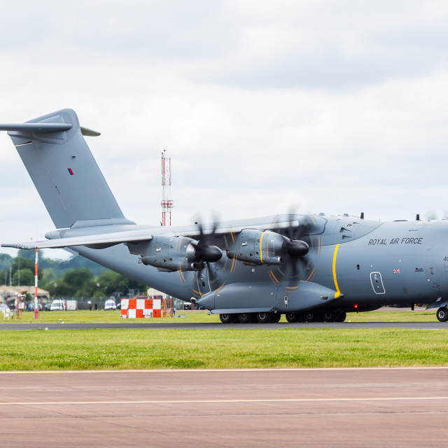 """Royal Air Force A400M Atlas"" stock image"