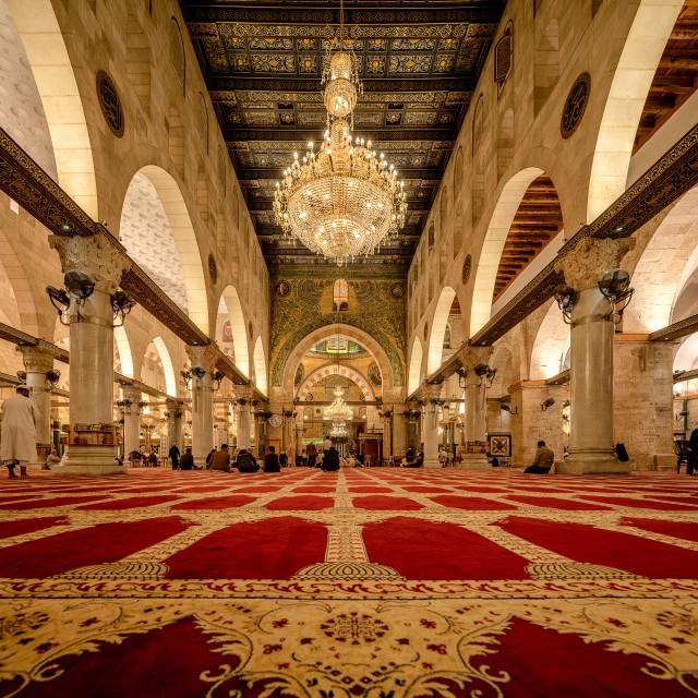 """""""The al-Aqsa Mosque"""" stock image"""