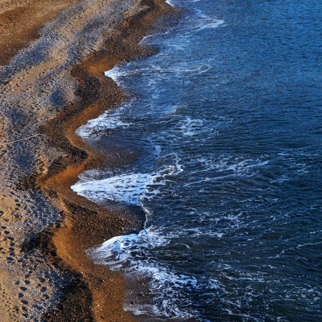 """Cerbere coast"" stock image"