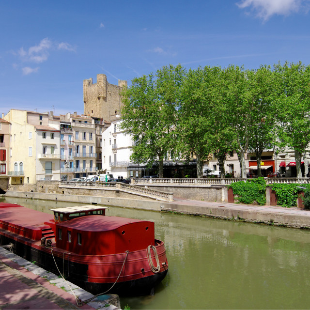 """""""Narbonne city"""" stock image"""