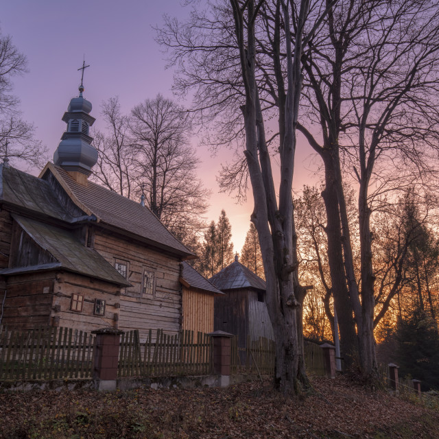 """St Joseph Church in Orelec"" stock image"