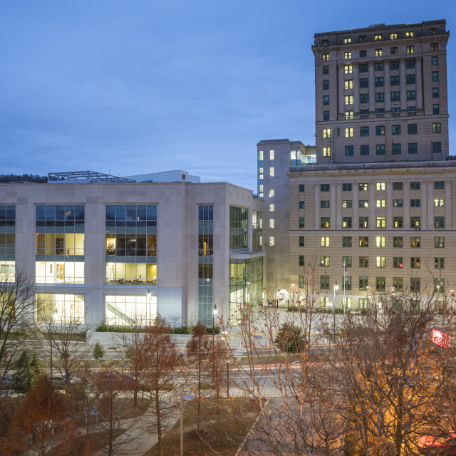 """Buncombe County Courthouse and City Hall"" stock image"