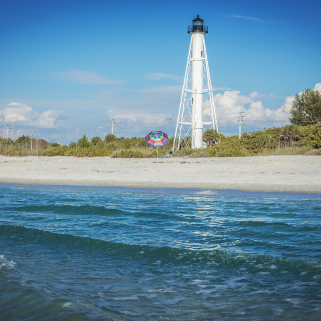 """Gasparilla Island Lighthouse"" stock image"