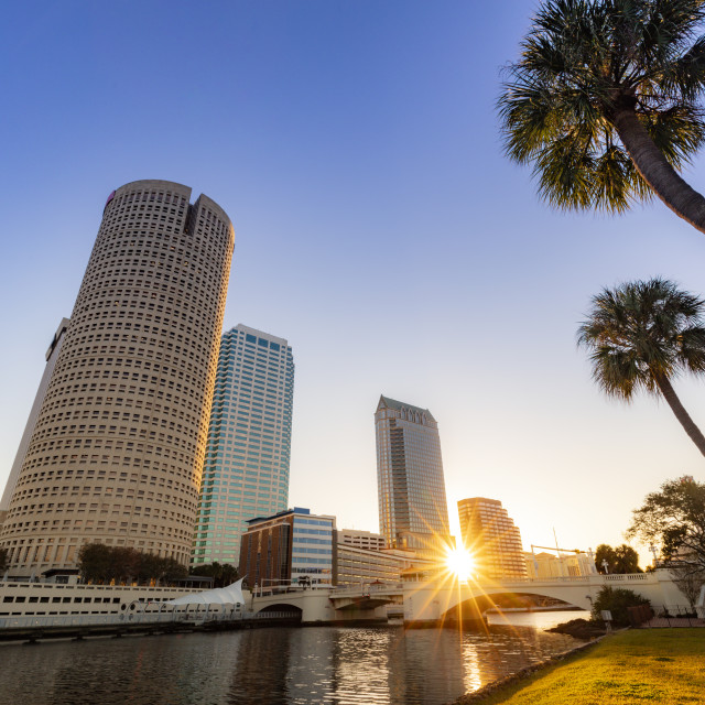 """Downtown of Tampa"" stock image"