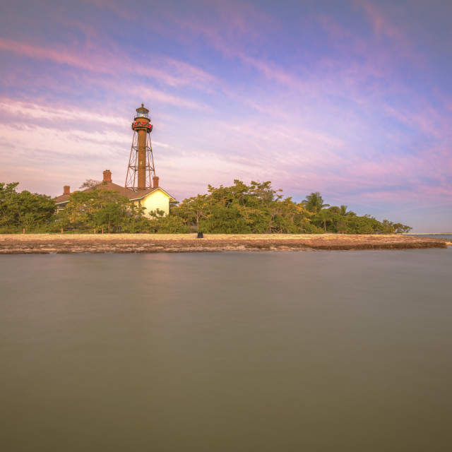 """Sanibel Lighthouse"" stock image"
