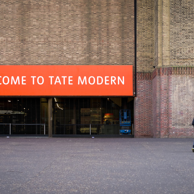 """Tate Modern Art Gallery, London"" stock image"