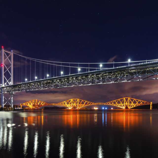 """Stars Over The Forth"" stock image"