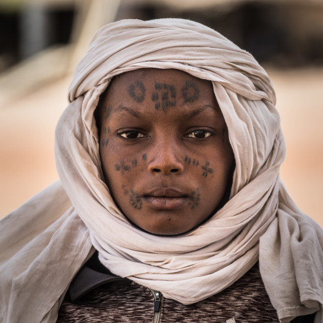 """Young wodaabe"" stock image"