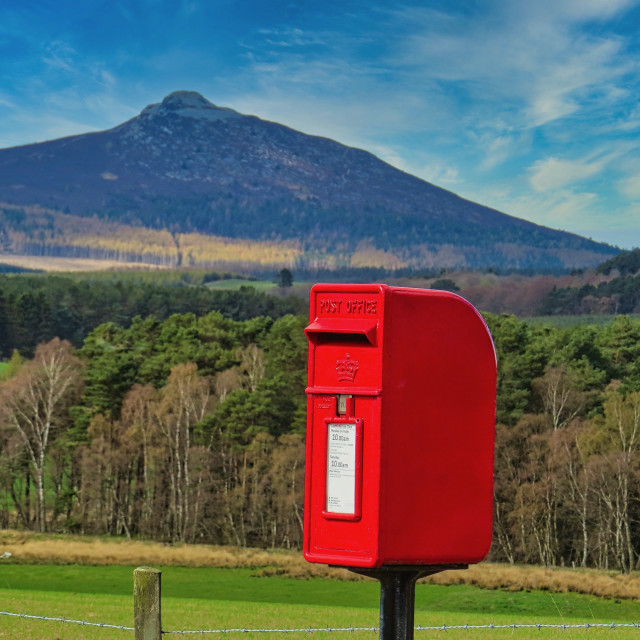"""""""Mail box in the country"""" stock image"""