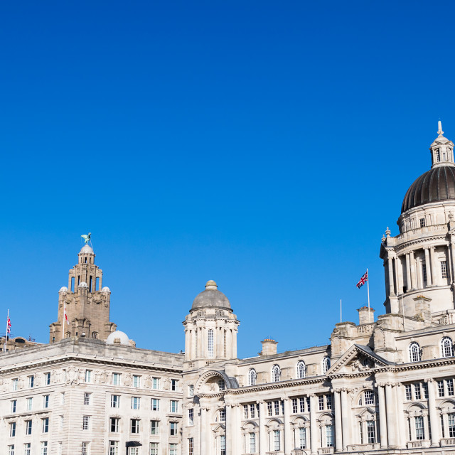 """""""Top of the Three Graces"""" stock image"""
