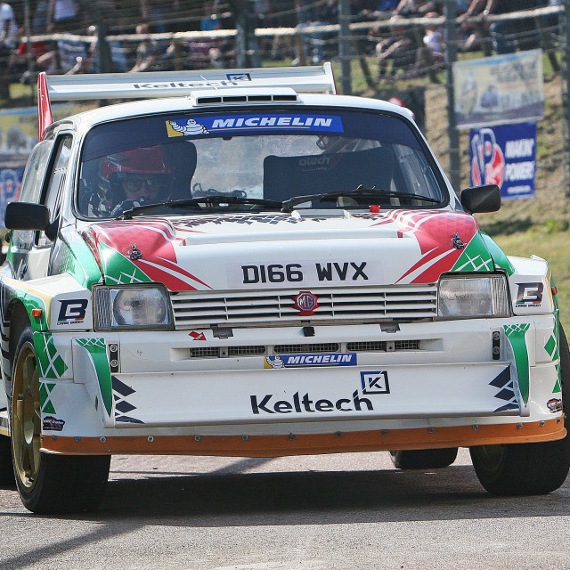 """Craig Breen in the 6R4"" stock image"