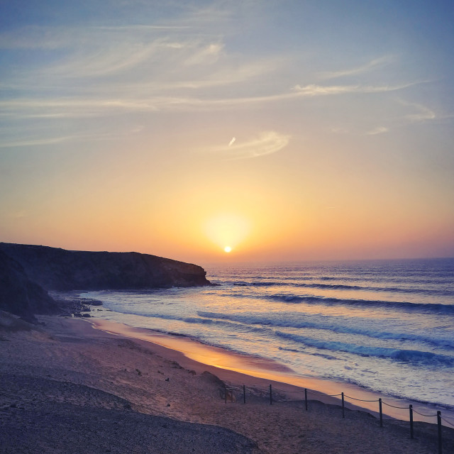 """Charming Sunset"" stock image"