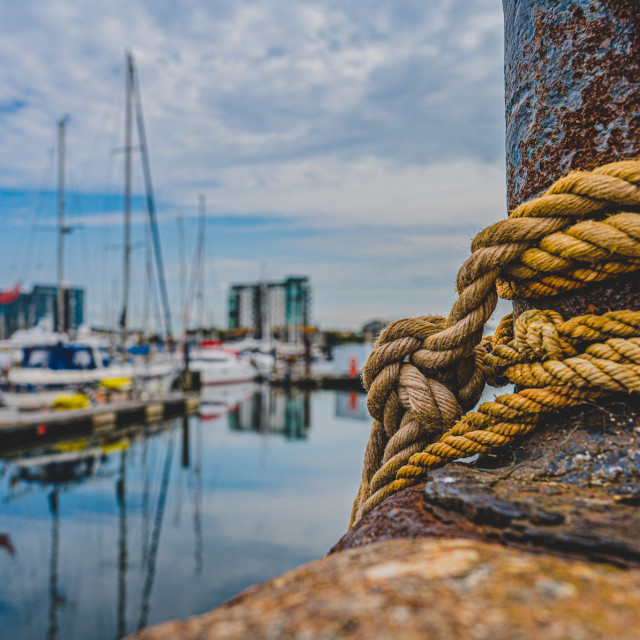 """""""Plymouth Harbour UK."""" stock image"""