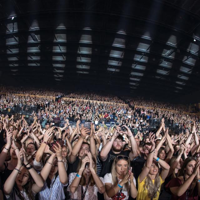 """""""Rita Ora live in Bournemouth"""" stock image"""