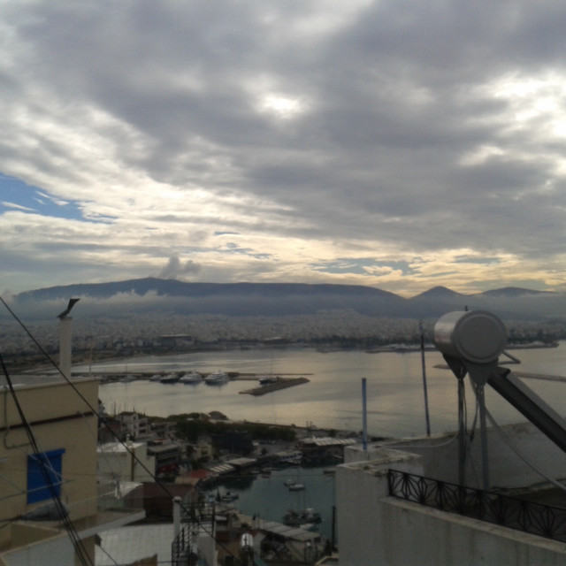 """Piraeus Sea View"" stock image"