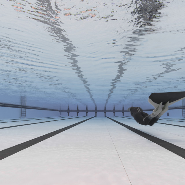 """Perfect pool"" stock image"