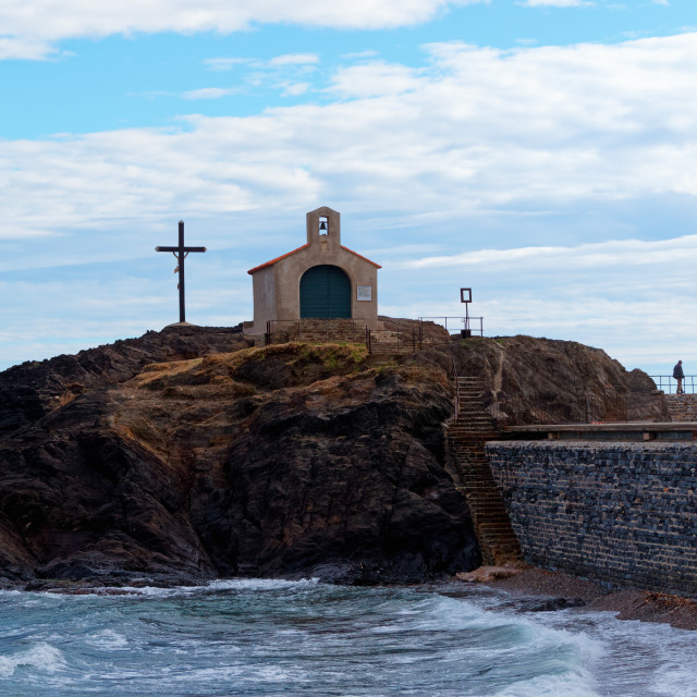 """""""Chapel on the rock"""" stock image"""