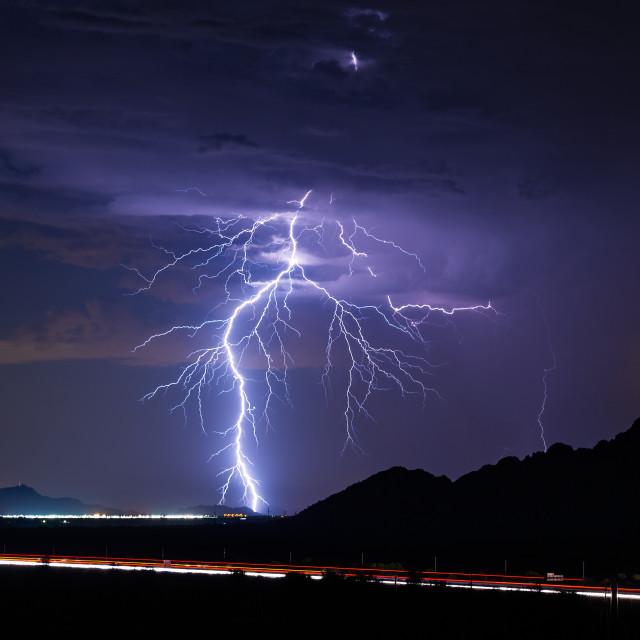 """""""Lightning bolt"""" stock image"""