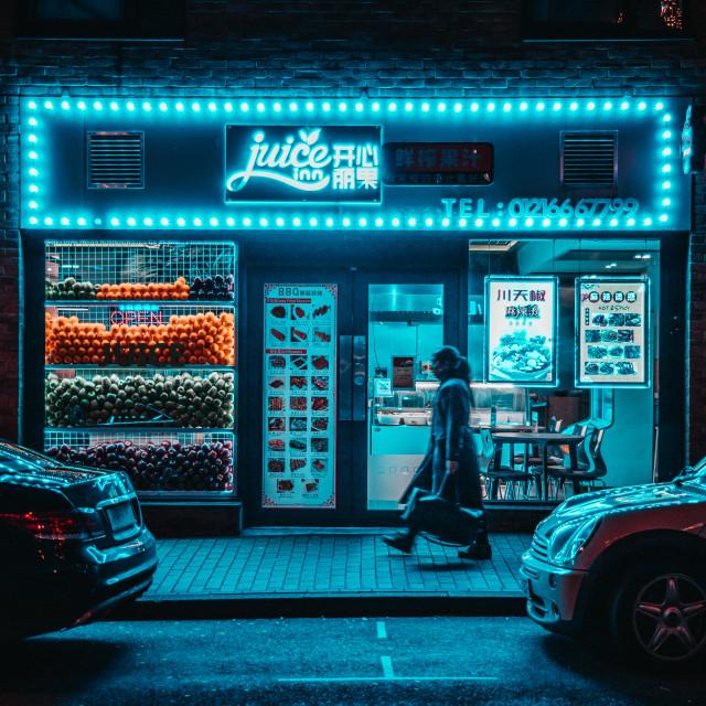 """Juice shop"" stock image"