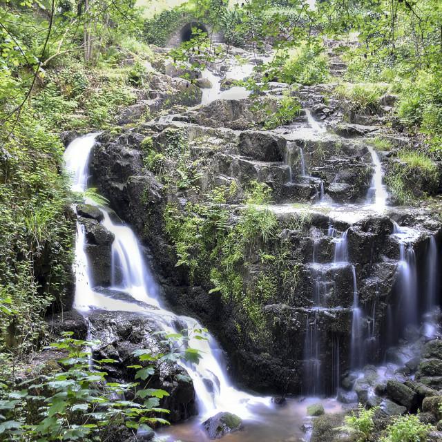 """""""Gentle Waterfall"""" stock image"""