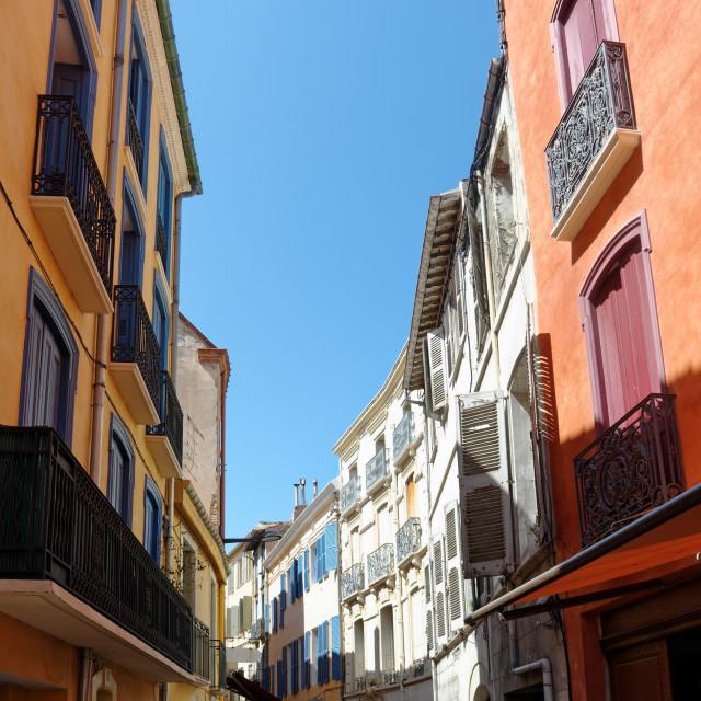 """Perpignan street"" stock image"