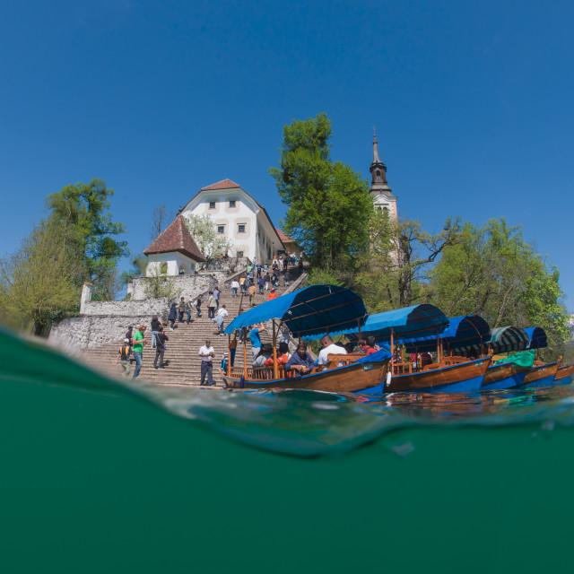 """Lake Bled"" stock image"