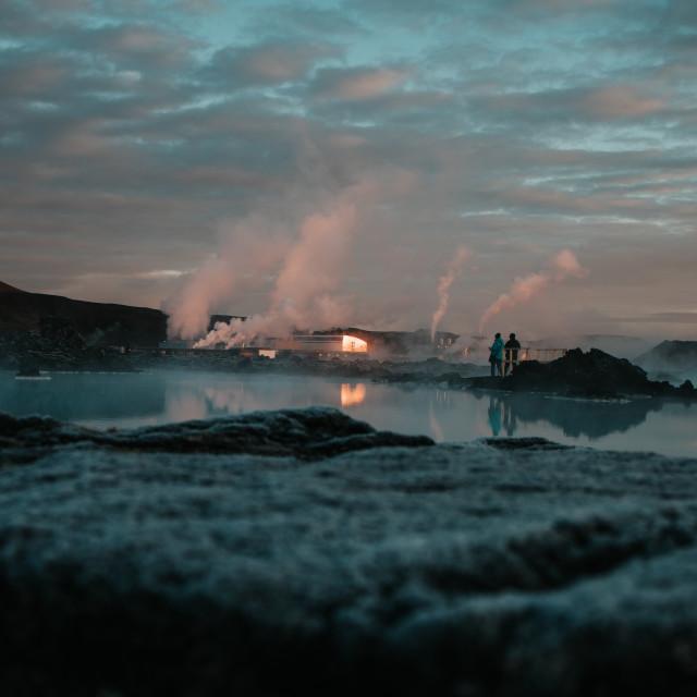 """Geothermal"" stock image"