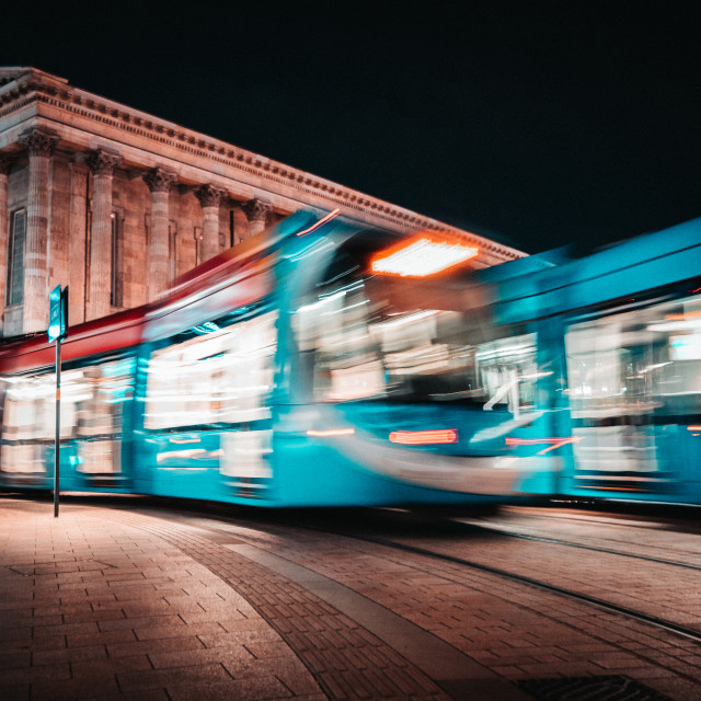 """""""Missed the Tram"""" stock image"""